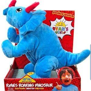New Ryan's World Roaring Dinosaur